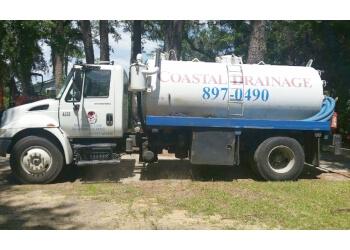 Savannah septic tank service Coastal Drainage