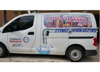 Miami plumber Coastal plumbing of Brickell, Inc.