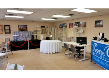 St Petersburg event rental company Coast to Coast Event Rentals