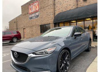 Raleigh auto body shop Coats Auto Body & Paint Inc.