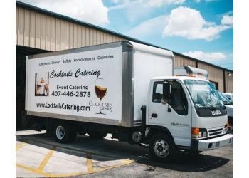 Orlando caterer Cocktails Catering