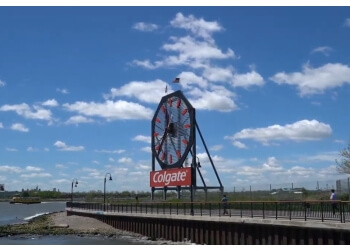 Jersey City places to see Colgate Clock