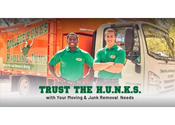 Lowell junk removal College Hunks Hauling Junk & Moving