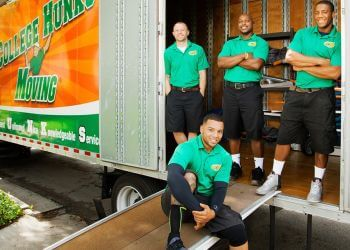 Lincoln junk removal College Hunks Hauling Junk and Moving