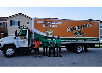Orlando junk removal College Hunks Hauling Junk and Moving