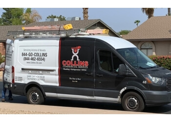 Scottsdale plumber Collins Commercial Service