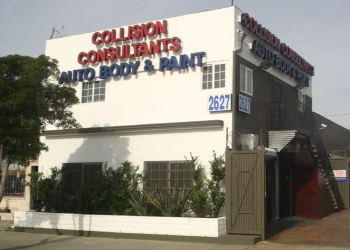 Los Angeles auto body shop Collision Consultants Auto Body & Paint