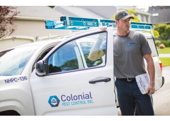 Worcester pest control company Colonial Pest Control Inc.