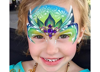 Santa Ana face painting Color Me Face Painting