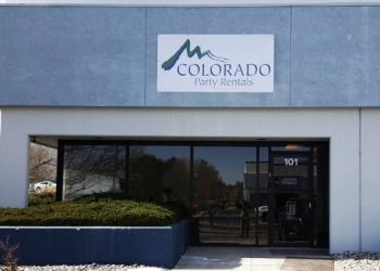 Colorado Springs event rental company Colorado Party Rentals