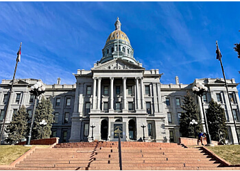 Denver landmark Colorado State Capitol