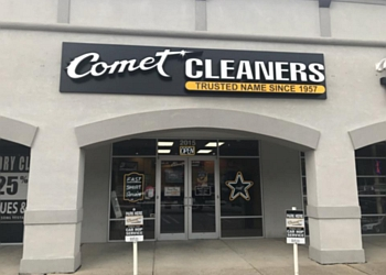 Lafayette dry cleaner Comet Cleaners