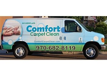 Fort Collins carpet cleaner Comfort Carpet Clean