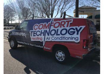 Hampton hvac service Comfort Technology Inc