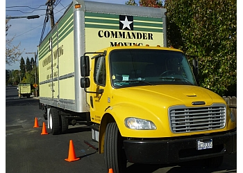 Oakland moving company Commander Moving, Inc.