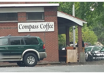 Vancouver cafe Compass Coffee