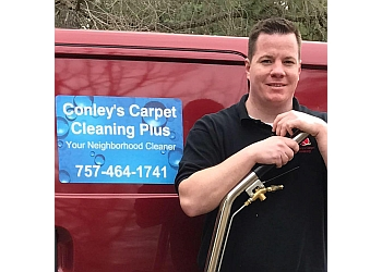 Virginia Beach carpet cleaner Conley's Carpet Cleaning Plus