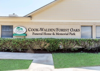 Austin funeral home Cook-Walden/Forest Oaks Funeral Home and Memorial Park