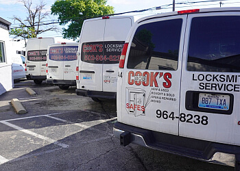 Louisville locksmith Cook's Locksmith Services