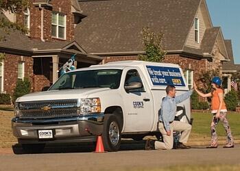 Mobile pest control company Cook's Pest Control