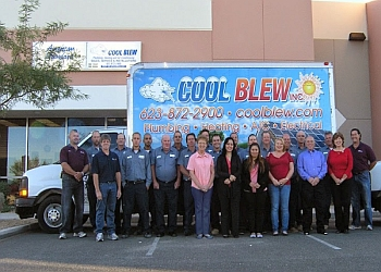 Peoria hvac service Cool Blew Inc.