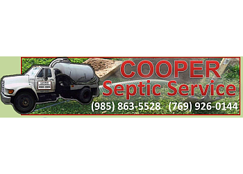New Orleans septic tank service Cooper Septic Service