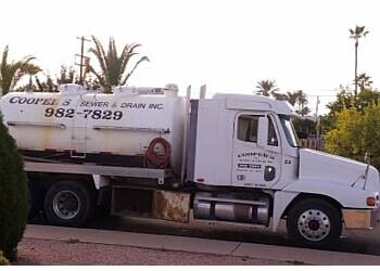Chandler septic tank service Cooper's Sewer & Drain, INC.