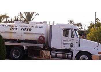 Mesa septic tank service Coopers Sewer & Drain inc.