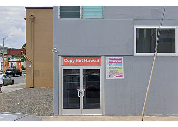 Honolulu printing service Copy Hut