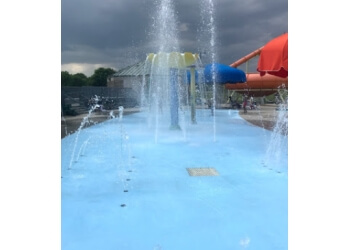 Cedar Rapids amusement park Coralville Community Aquatic Center