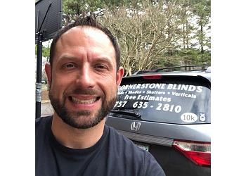 Chesapeake window treatment store Cornerstone Blinds