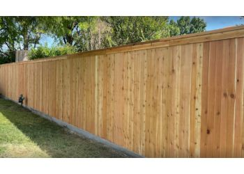 Tulsa fencing contractor Cornerstone fence Company