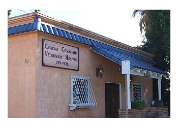 Corona veterinary clinic Corona Community Veterinary Hospital