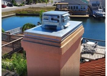 Corpus Christi chimney sweep Lighthouse Roofing & Exteriors LLC