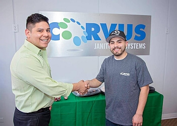 Denver commercial cleaning service Corvus Janitorial Systems