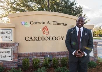 Lafayette cardiologist Corwin A. Thomas, DO, FACC, FASNC, FSCAI