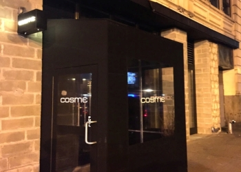New York mexican restaurant Cosme