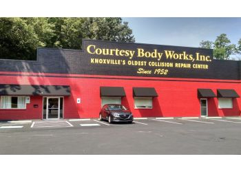 Knoxville auto body shop Courtesy Body Works, Inc.
