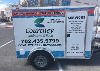 Henderson landscaping company Courtney Landscape & Pools