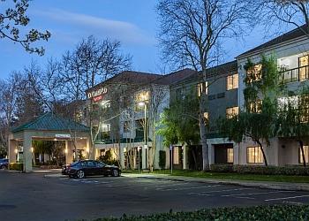 Stockton hotel Courtyard