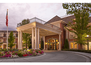 Provo assisted living facility Courtyard at Jamestown Assisted Living