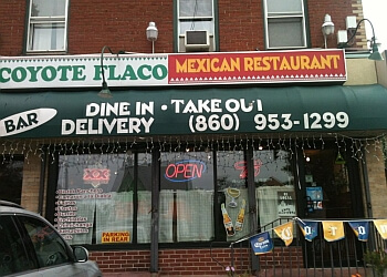 Hartford mexican restaurant Coyote Flaco Mexican Restaurant