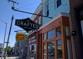 Baltimore hair salon Crafted Hair Studio