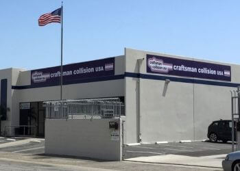 Long Beach auto body shop Craftsman Collision USA