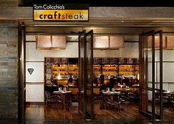 Las Vegas steak house Craftsteak