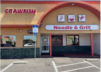Modesto seafood restaurant Crawfish Noodle & Grill