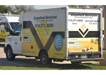 Grand Prairie hvac service Crawford Services Inc.