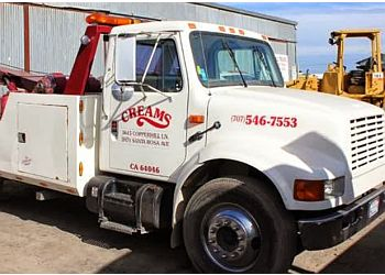 Santa Rosa towing company Cream's Towing