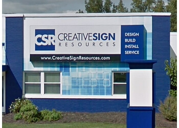 Fort Wayne sign company Creative Sign Resources