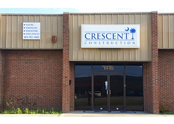 Columbia roofing contractor Crescent Construction LLC.